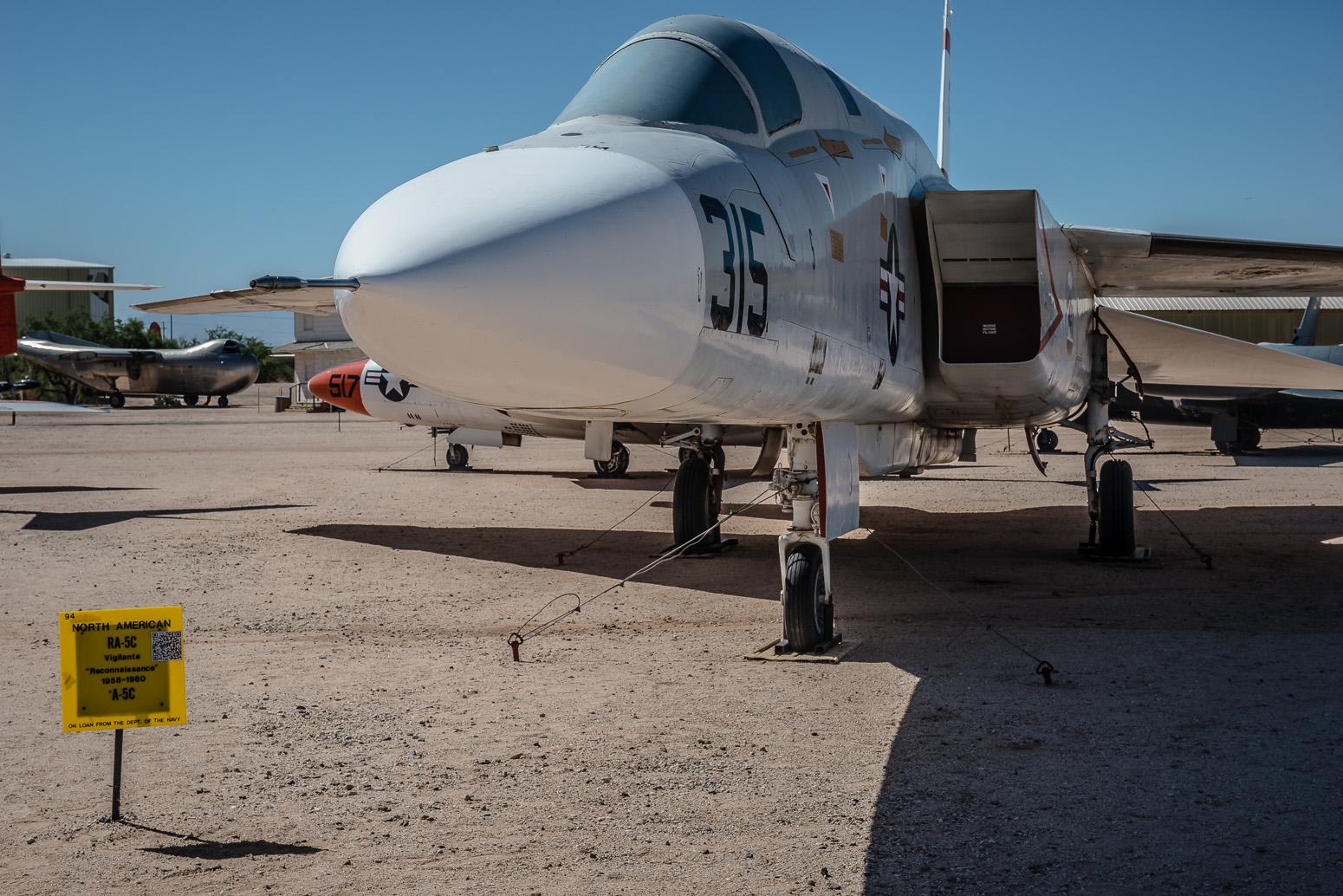 RA-5C Vigilante, Pima Air & Space Museum , Tucson, USA