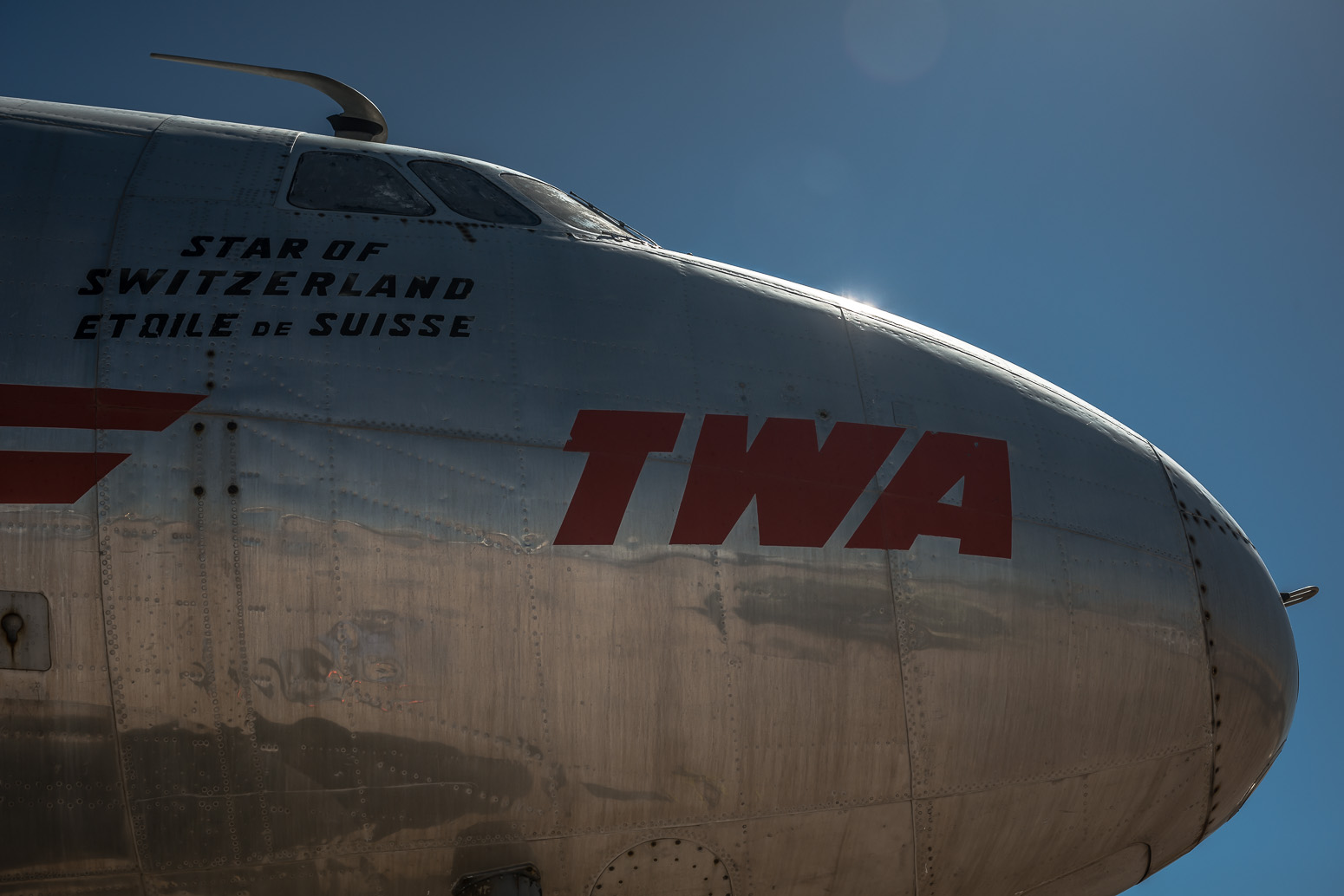 TWA Constellation, Built 1943, Required 7000 restoration hours in 1979, Pima Air & Space Museum , Tucson, USA