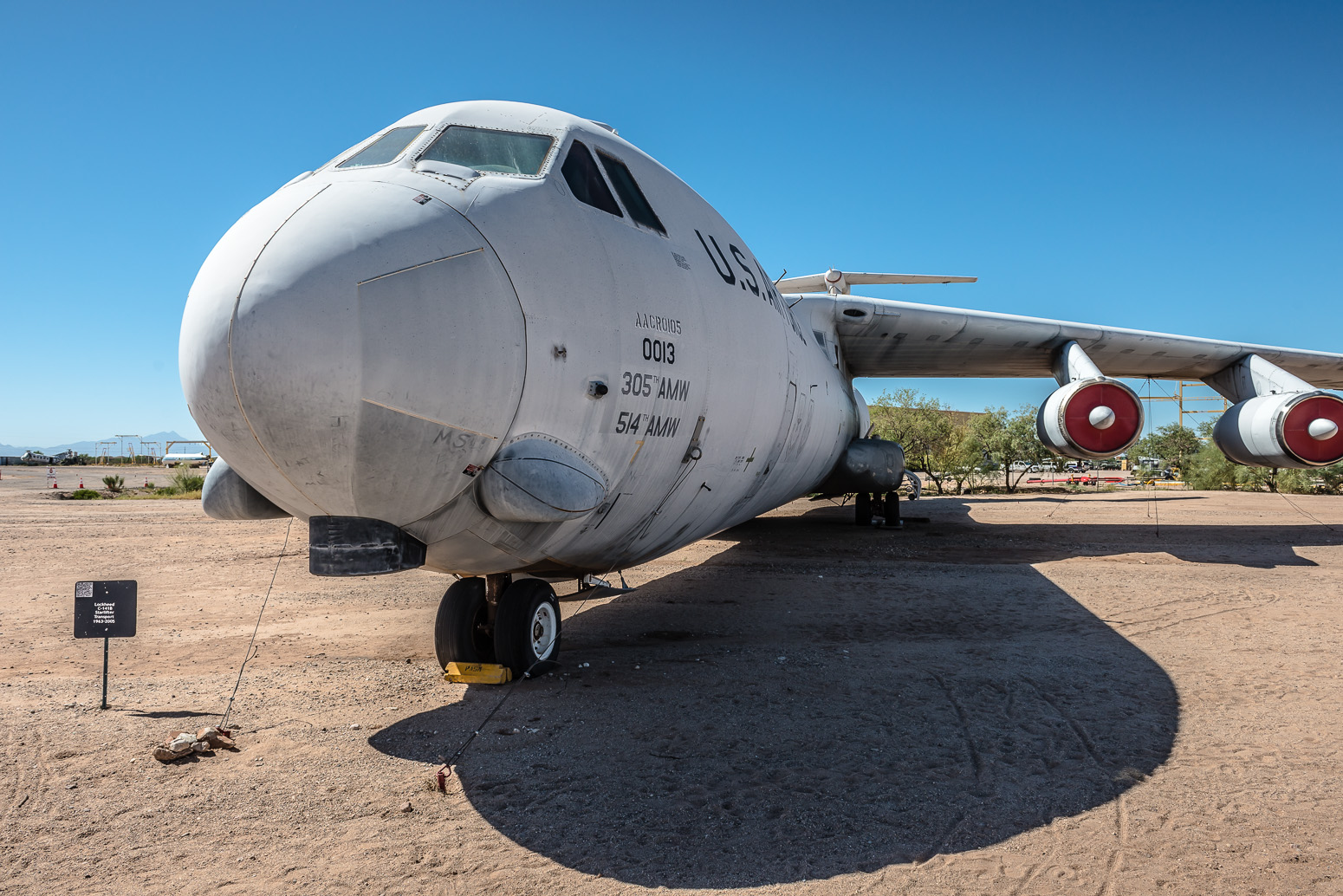 C-141B Starlifter Transport, Pima Air & Space Museum , Tucson, USA