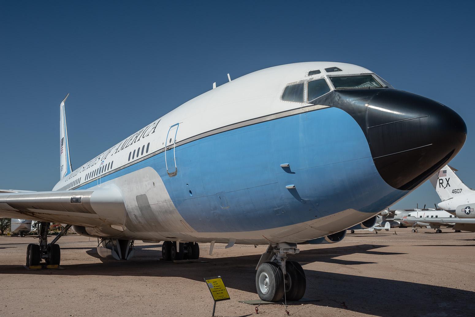 Boeing VC-137B VIP Transport, Pima Air & Space Museum , Tucson, USA