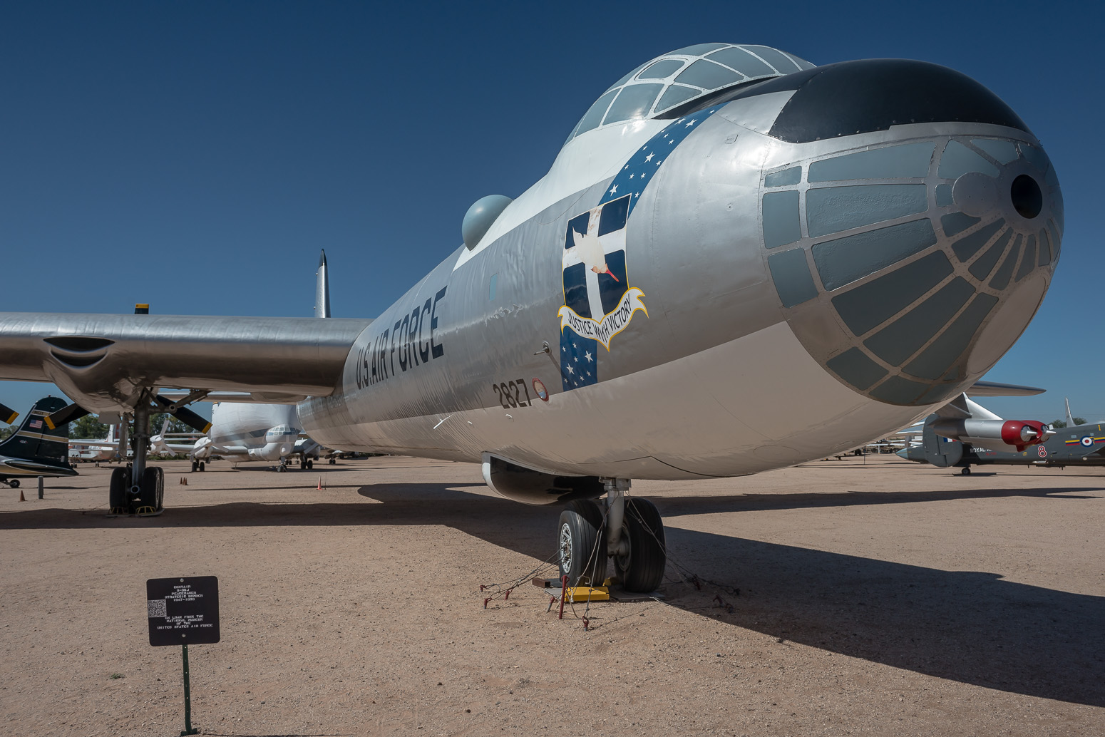 Convair B-36J Peacemaker Strategic Bomber, Pima Air & Space Museum , Tucson, USA