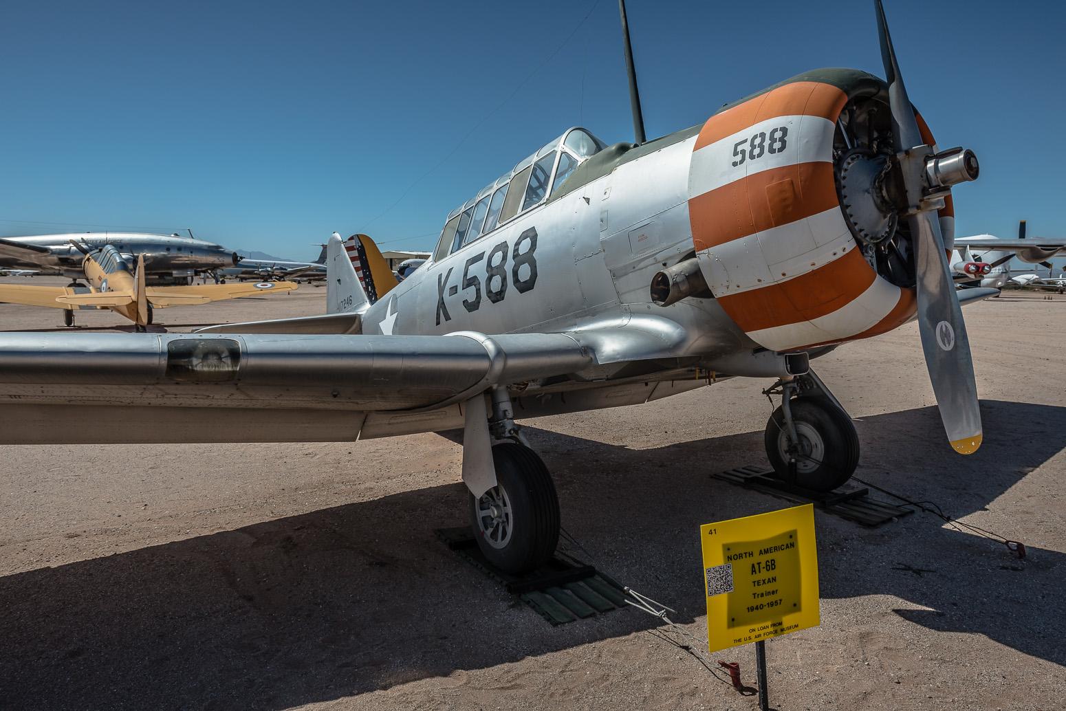 North Americain AT-6B, Pima Air & Space Museum, Tucson, USA