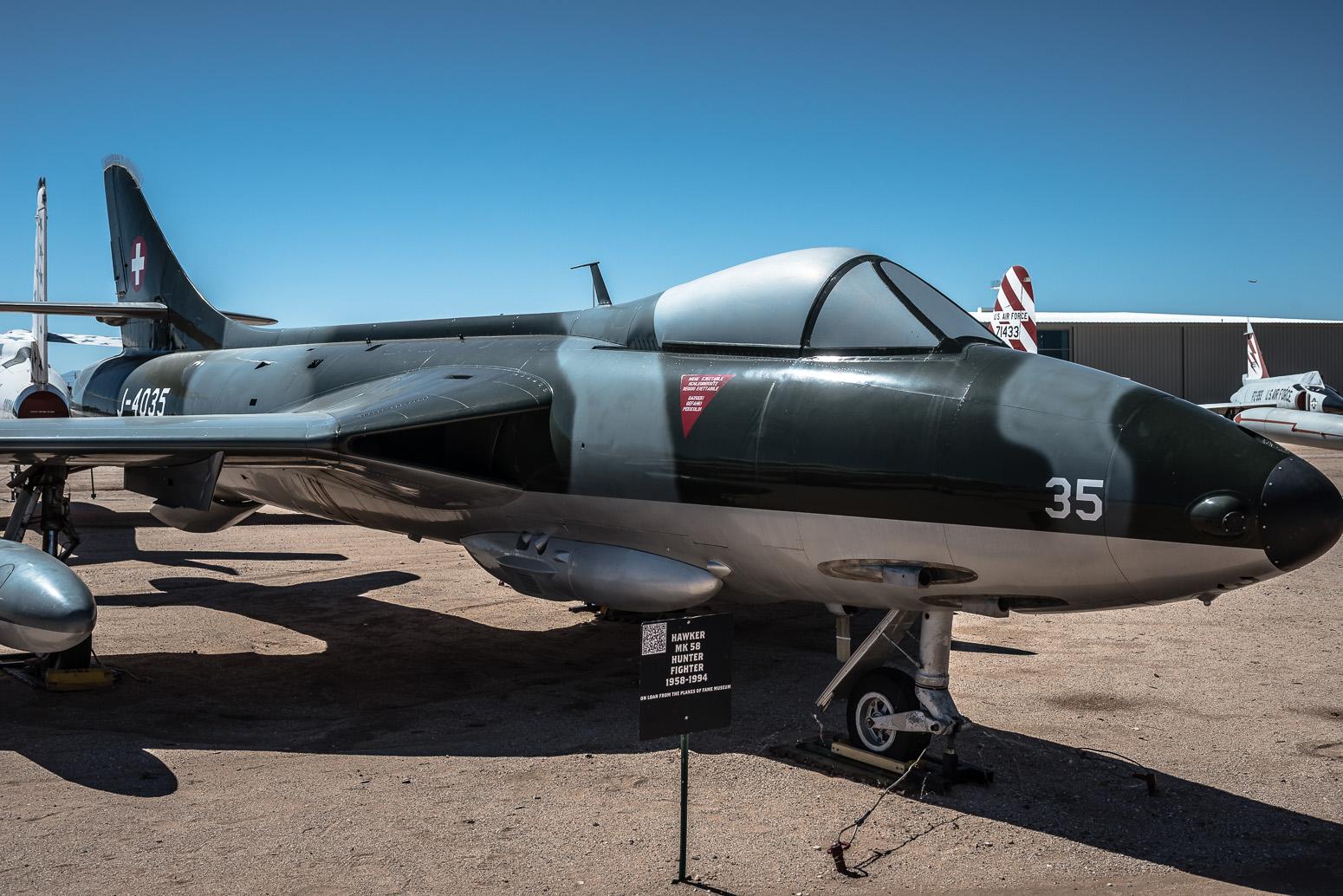 Hawker MK58 Hunter, Pima Air & Space Museum , Tucson, USA