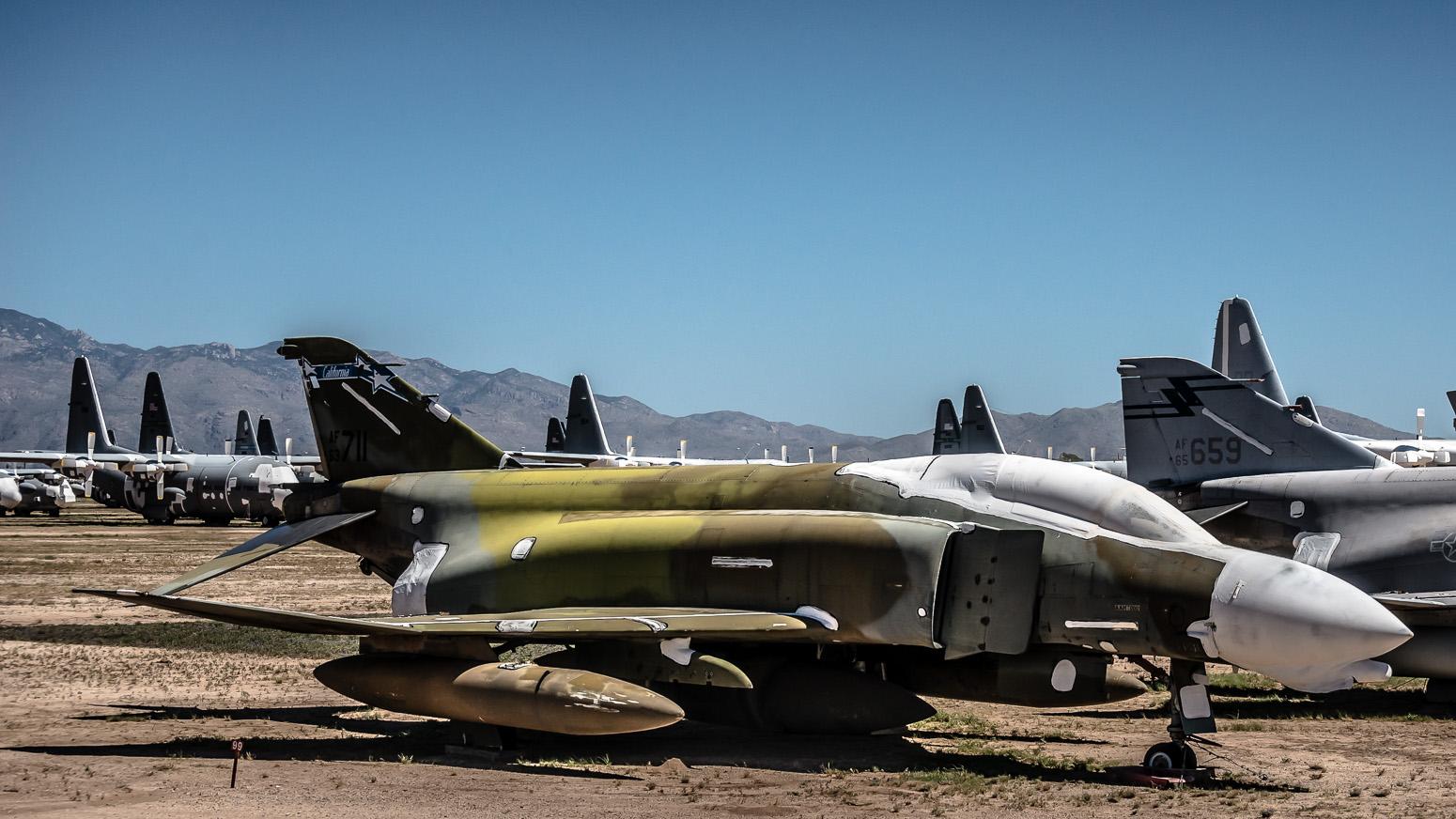 F-4 Phantom, The Boneyard, Davis-Monthan Air Force Base, Tucson, USA