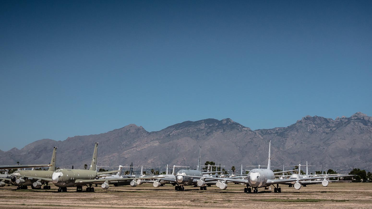 Boeing KC-135C, The Boneyard, Davis-Monthan Air Force Base, Tucson, USA