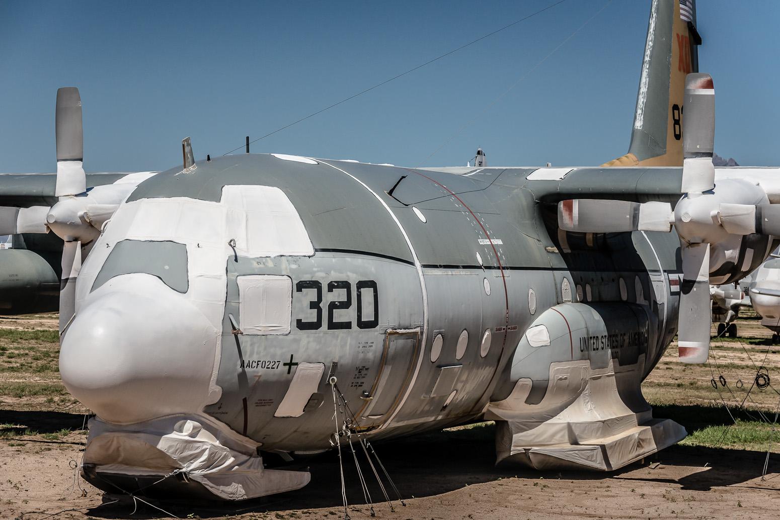 Lockheed LC-130 Hercules, The Boneyard, Davis-Monthan Air Force Base, Tucson, USA