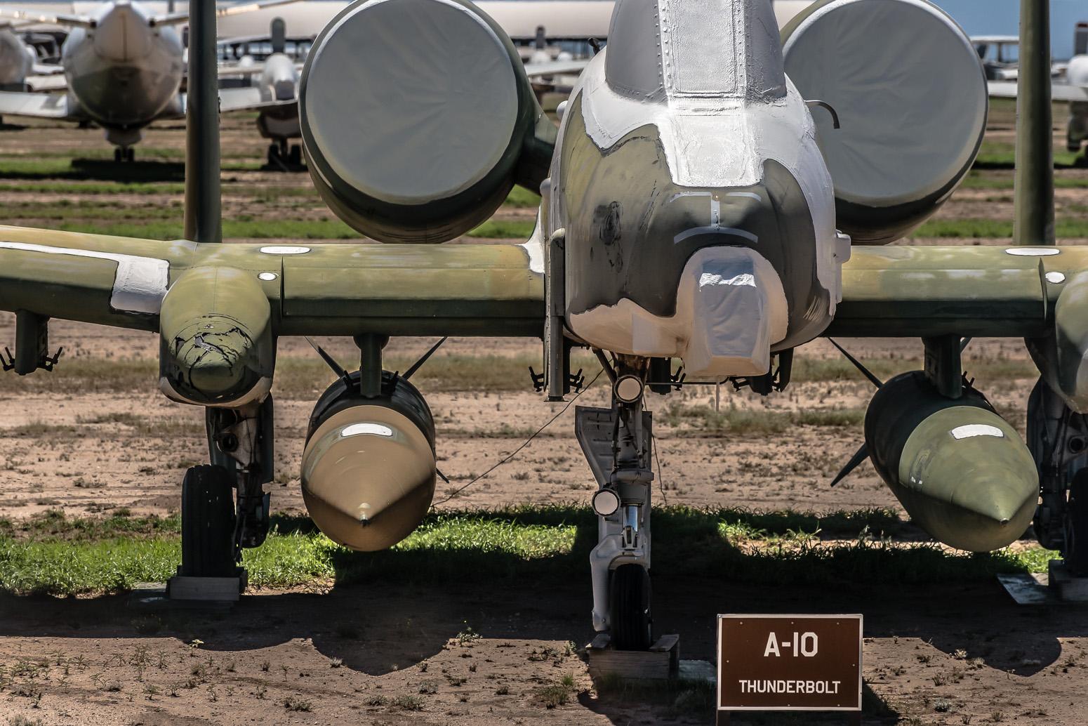 A-10 Thunderbolt, The Boneyard, Davis-Monthan Air Force Base, Tucson, USA