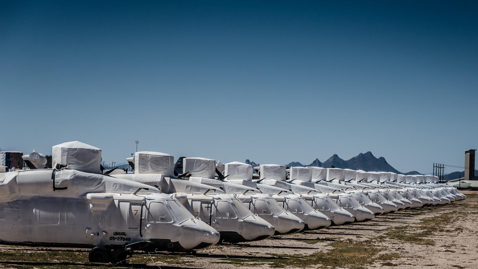 Sikorsky SH-60B Blackhawk, The Boneyard, Davis-Monthan Air Force Base, Tucson, USA