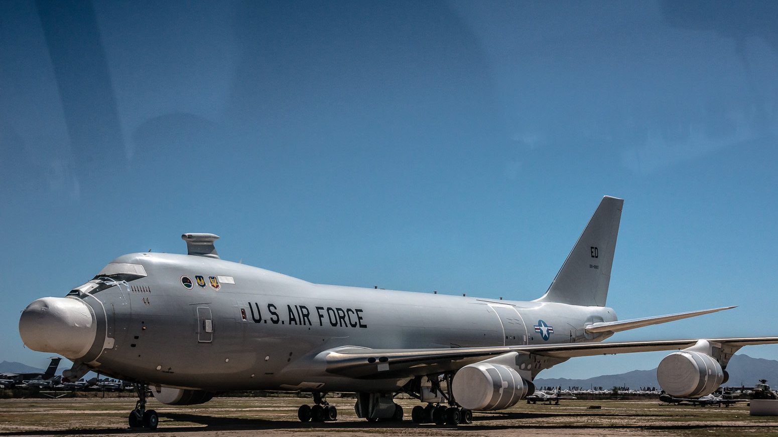Boeing YAL-1A, Anti-Ballistic Missile Weapons System, The Boneyard, Davis-Monthan Air Force Base, Tucson, USA