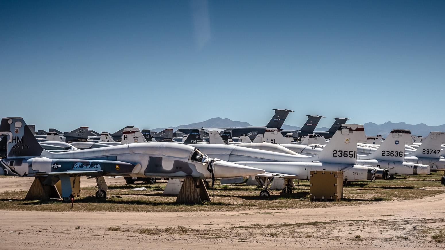 Northrop F-5, The Boneyard, Davis-Monthan Air Force Base, Tucson, USA