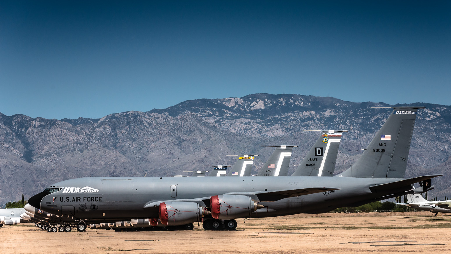 KC-135R, The Boneyard, Davis-Monthan Air Force Base, Tucson, USA