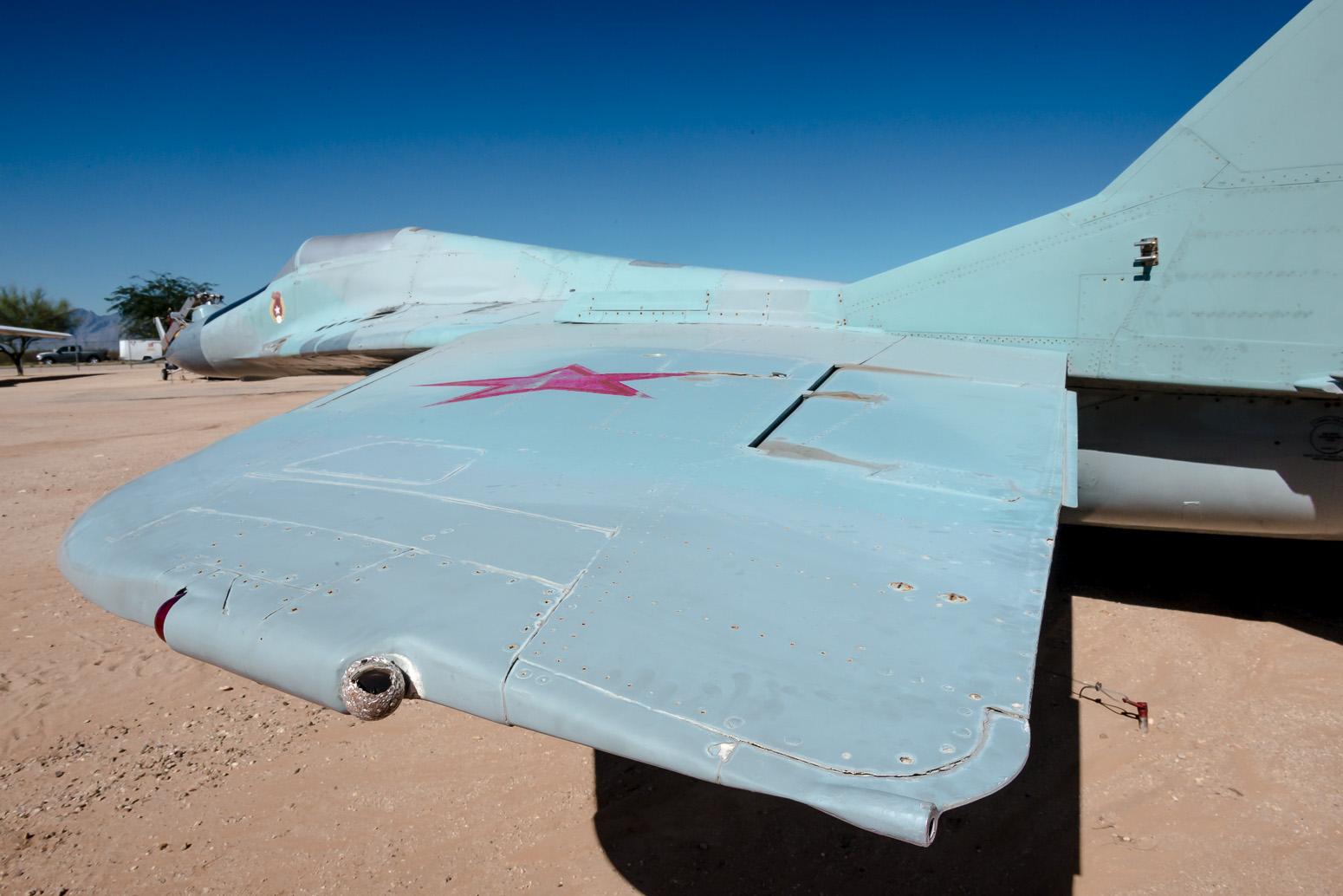 MIG 29, Pima Air & Space Museum , Tucson, USA