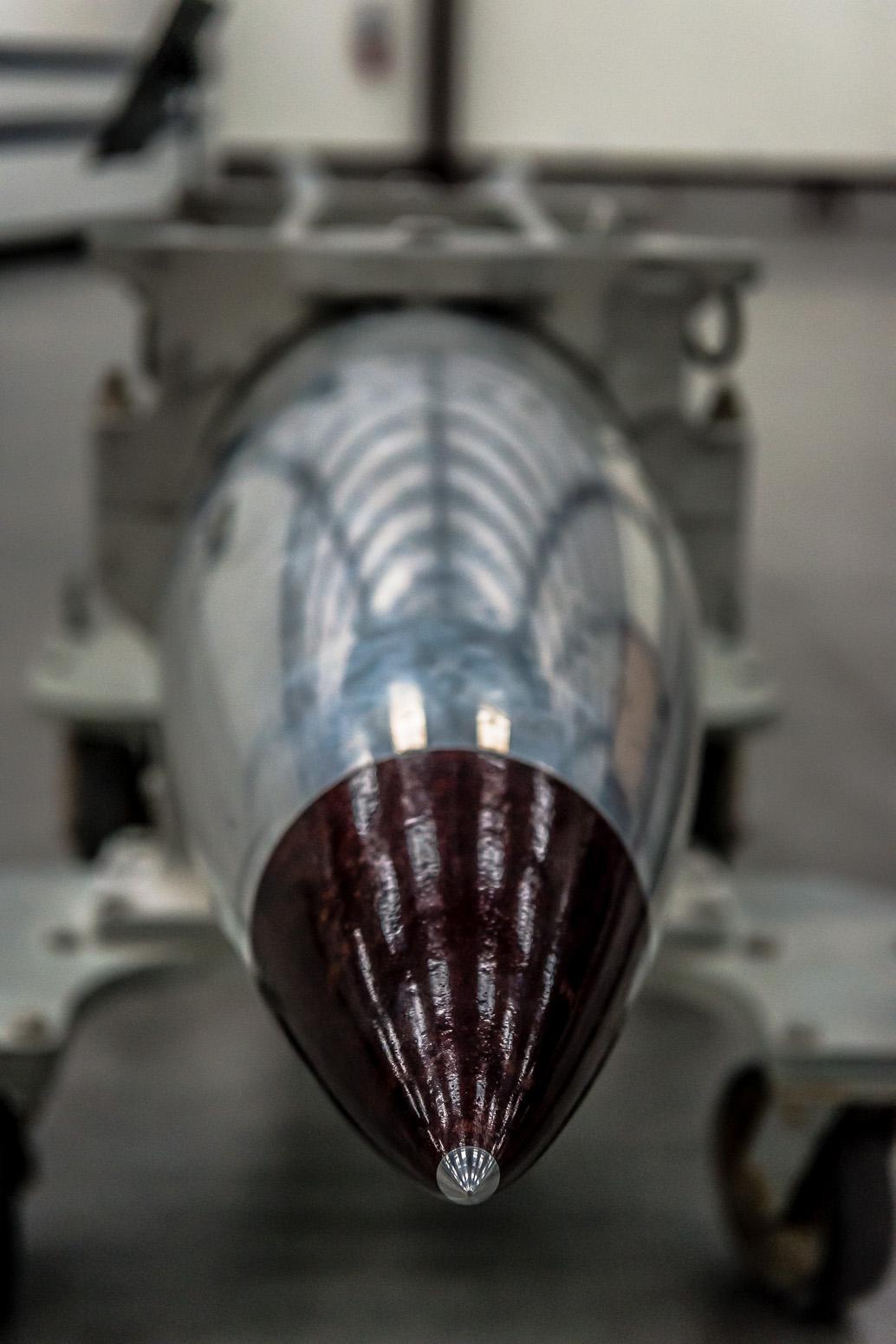 B61 Nuclear Bomb, 20x Hiroshima Payload, Pima Air & Space Museum , Tucson, USA
