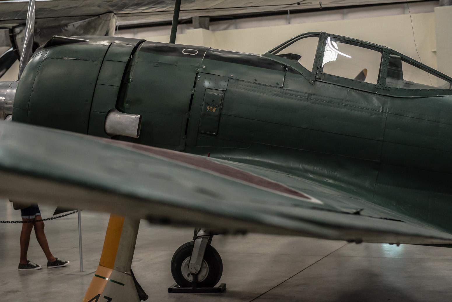 Mitsubishi A6M Zero, Pima Air & Space Museum , Tucson, USA
