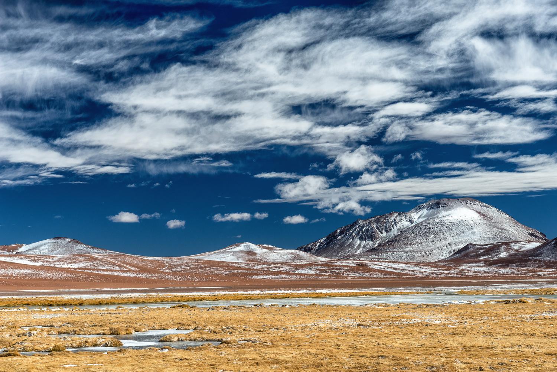 Cerro El Chascon, Andes, Chile, 5052m