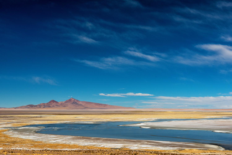Salar de Tara, Andes, Chile