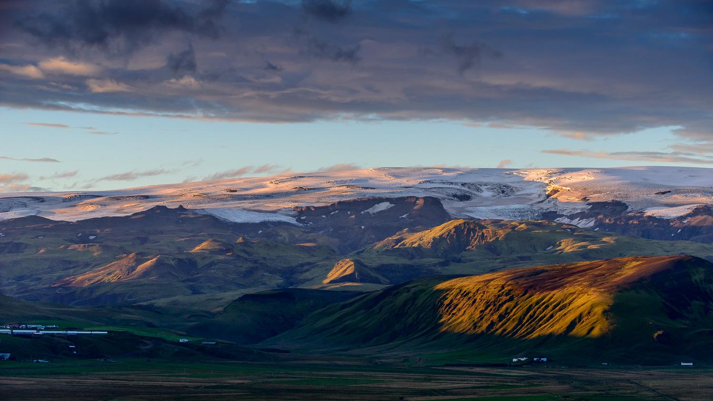 Mýrdalsjökull Glacier, Iceland