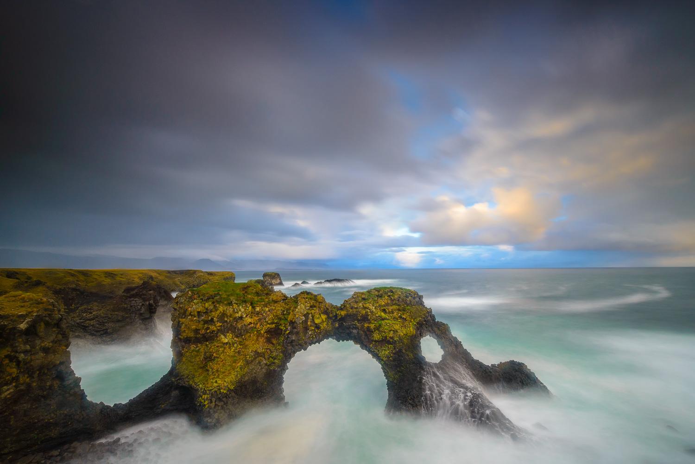 Gatlettur Sea Arch, Snaefellsnes Peninsula, Iceland