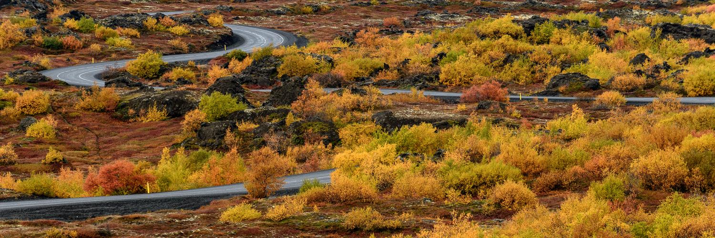 Dimmuborgir Lava Field, Lake Myvatn, Iceland