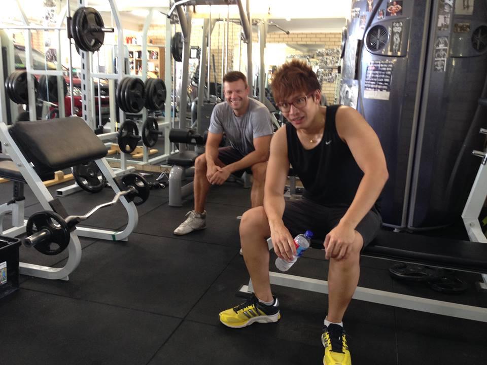 Vinh Giang and Matthew Michalwicz