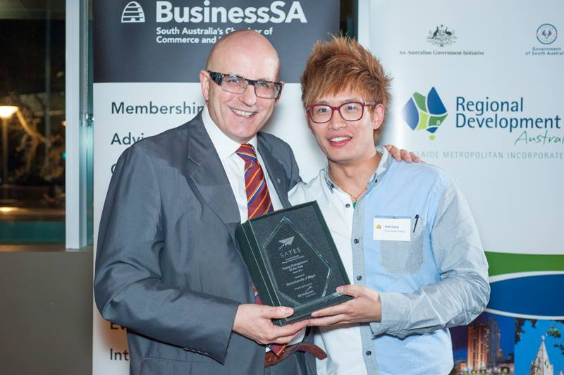 Young Entrepreneur of the Year!
