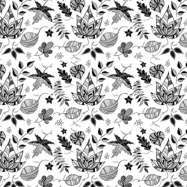 Surface Design. Repeat Pattern. Rapport. Diseño de estampado. . . #blackandwhite #annyescanoruiz #annyescanoruizdesign #annyruizdesign #annypatternexploration #leavespattern #art #artist #creative #rapport #surfacedesign #pattern #estampado #patterndesign #domestika
