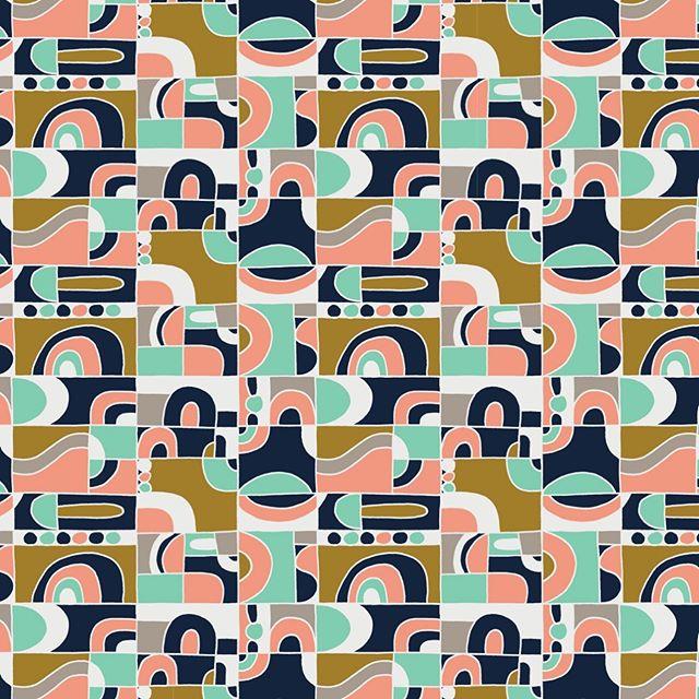 Surface Design. Repeat Pattern. Rapport. Diseño de estampado. . . #annyescanoruiz #annyescanoruizdesign #annyruizdesign #annypatternexploration #geometric #art #artist #creative #rapport #surfacedesign #pattern #estampado #patterndesign #domestika #midcenturydesign #midcenturypattern