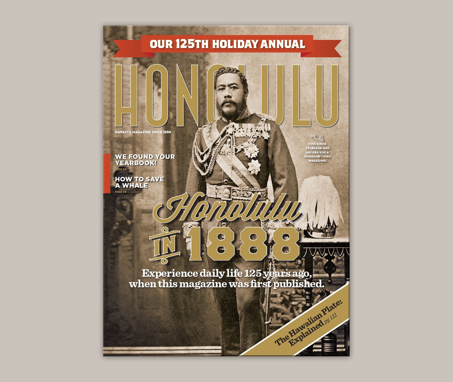 HONOLULU IN 1888 COVER AND FEATURE
