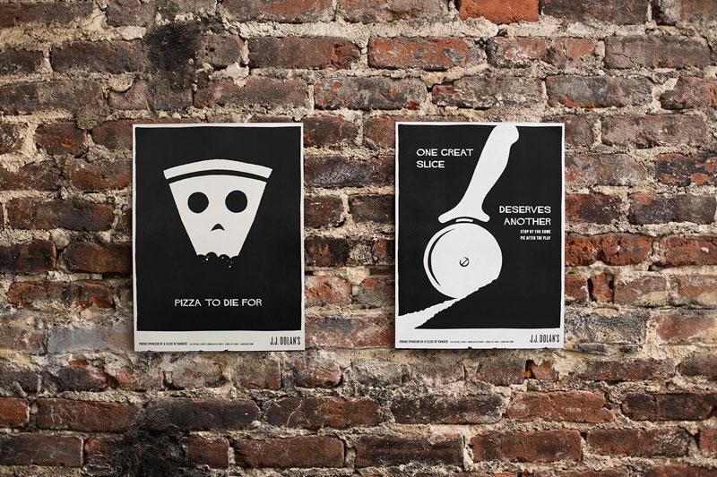"""""""Slice of Danger"""" Poster Series"""