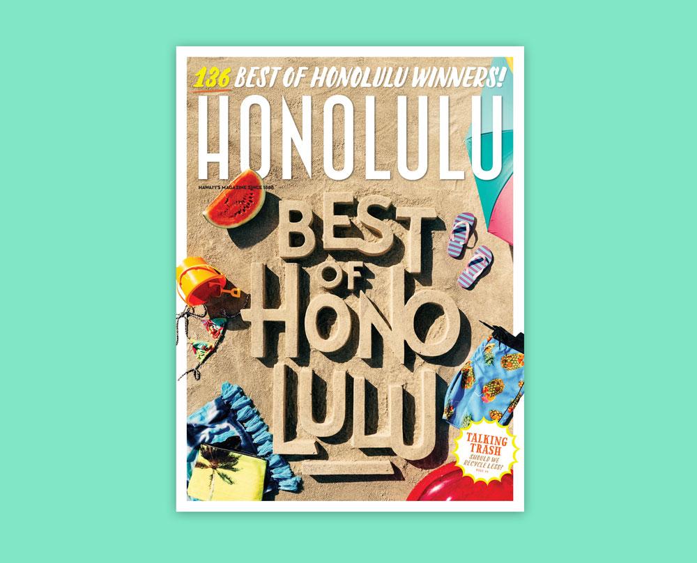 Cover – Best of Honolulu, HONOLULU Magazine, July 2015