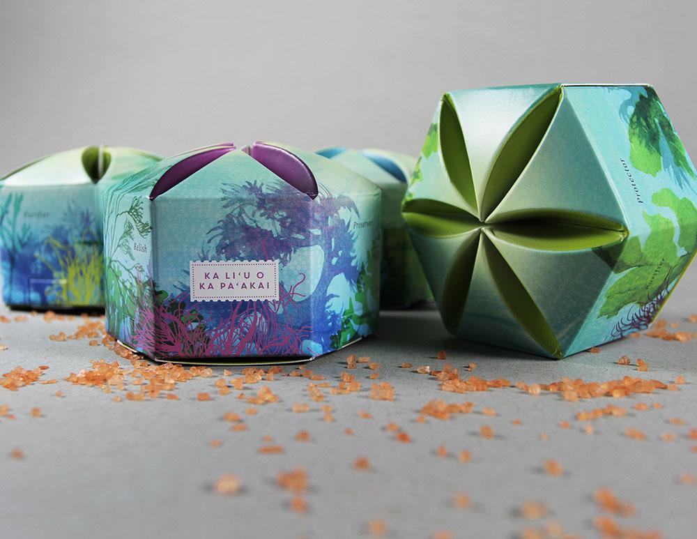 Kamehameha Schools Ho'okahua Salt Favor Boxes