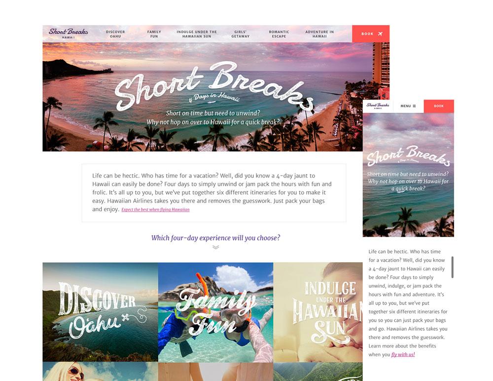 Short Breaks Hawaii