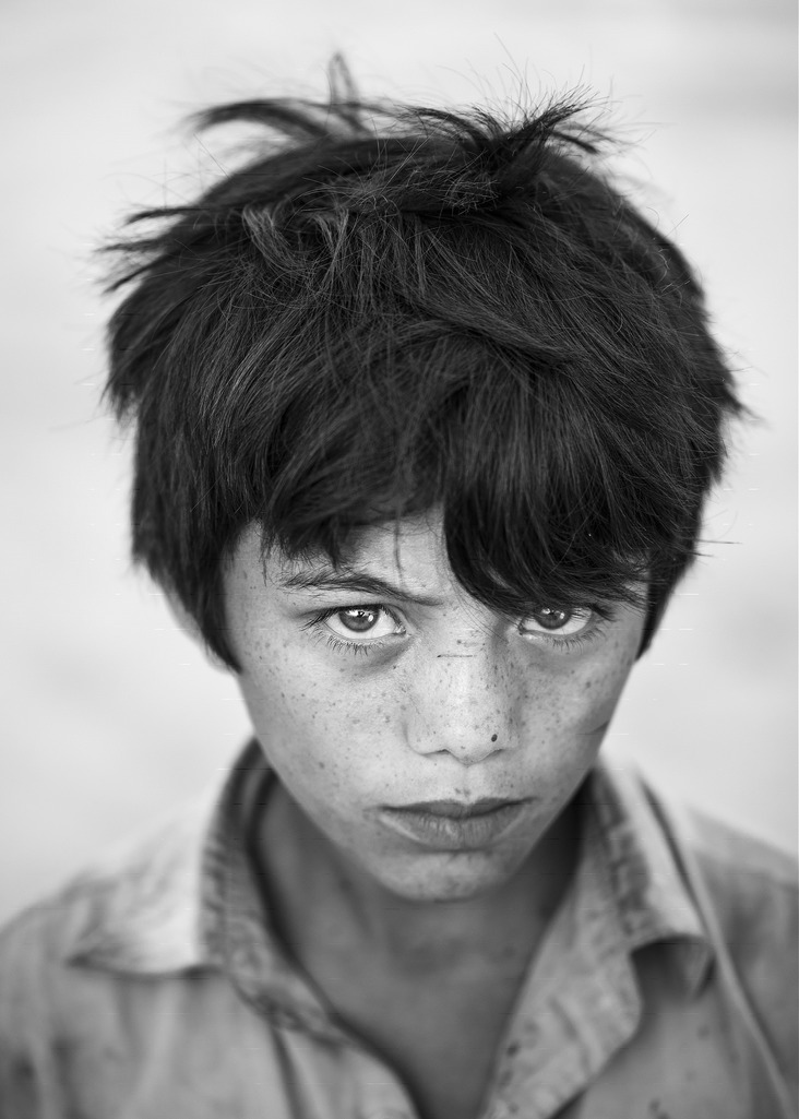 Portrait of a young boy from Sahiwal, Pakistan (2015)