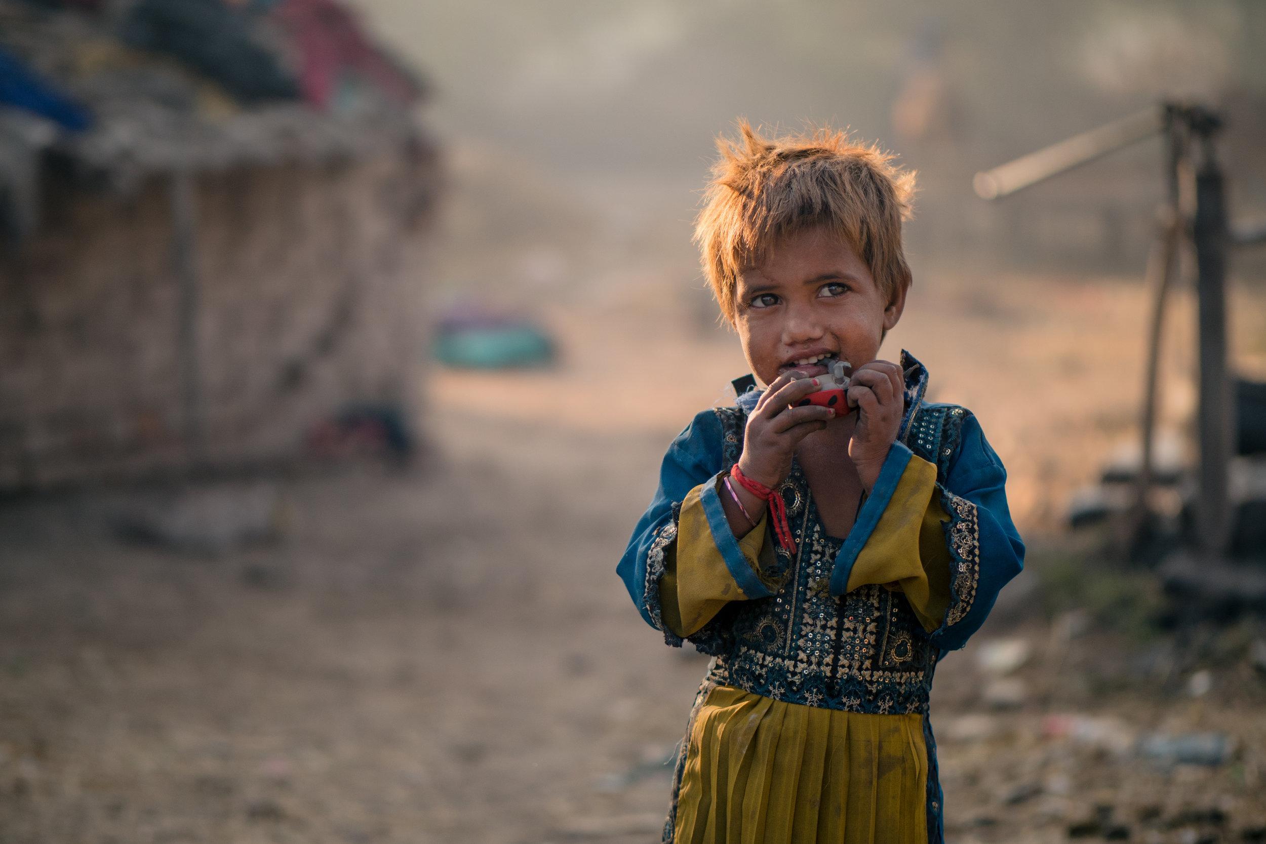 Village girl