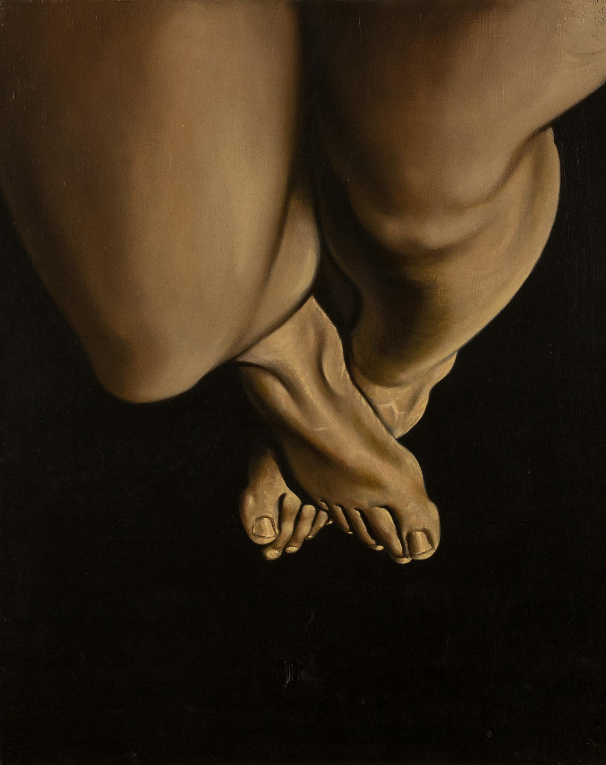 Autoritratto in forma di sé,   olio su tela, cm 50x40, 1996