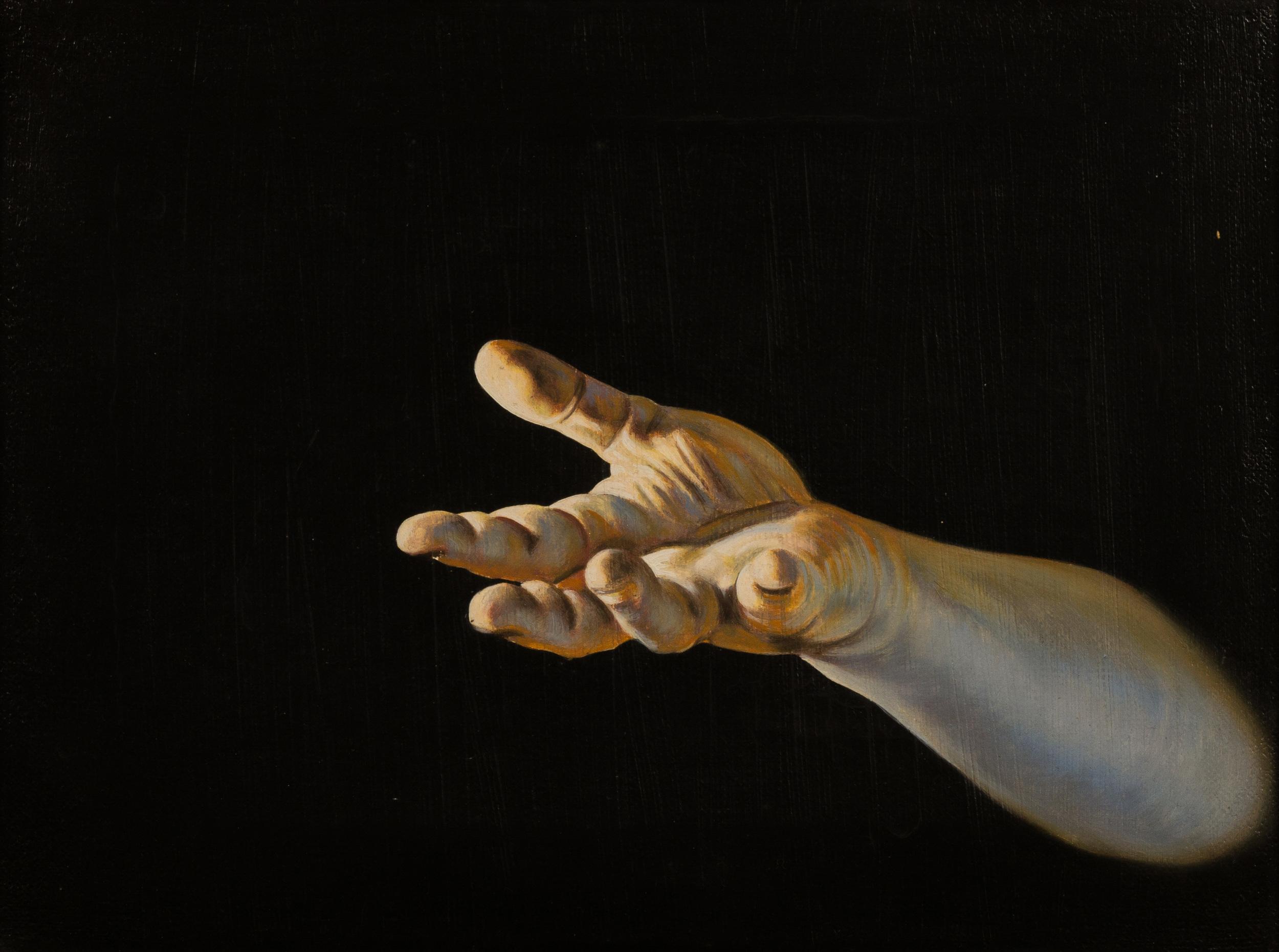 Ablativo , olio su tela, cm 30x40, 1996