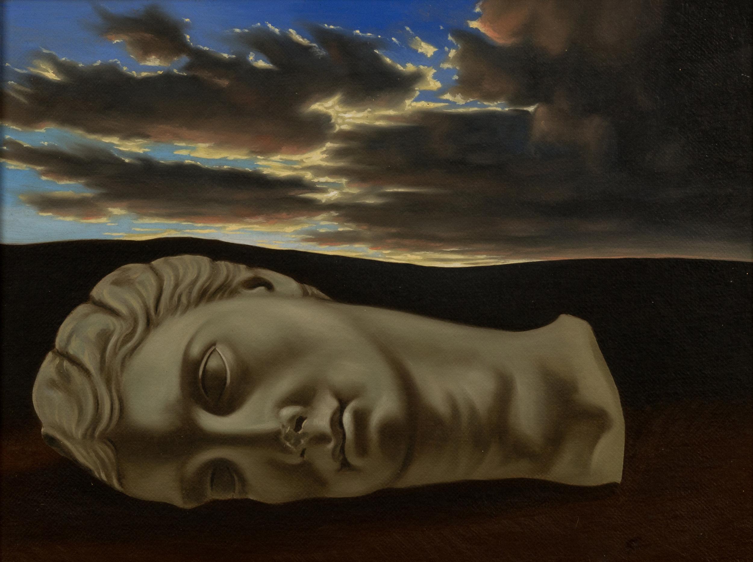 Diana Aricina ovvero la bellezza mitica ,  olio su tela, cm 30x40, 2005