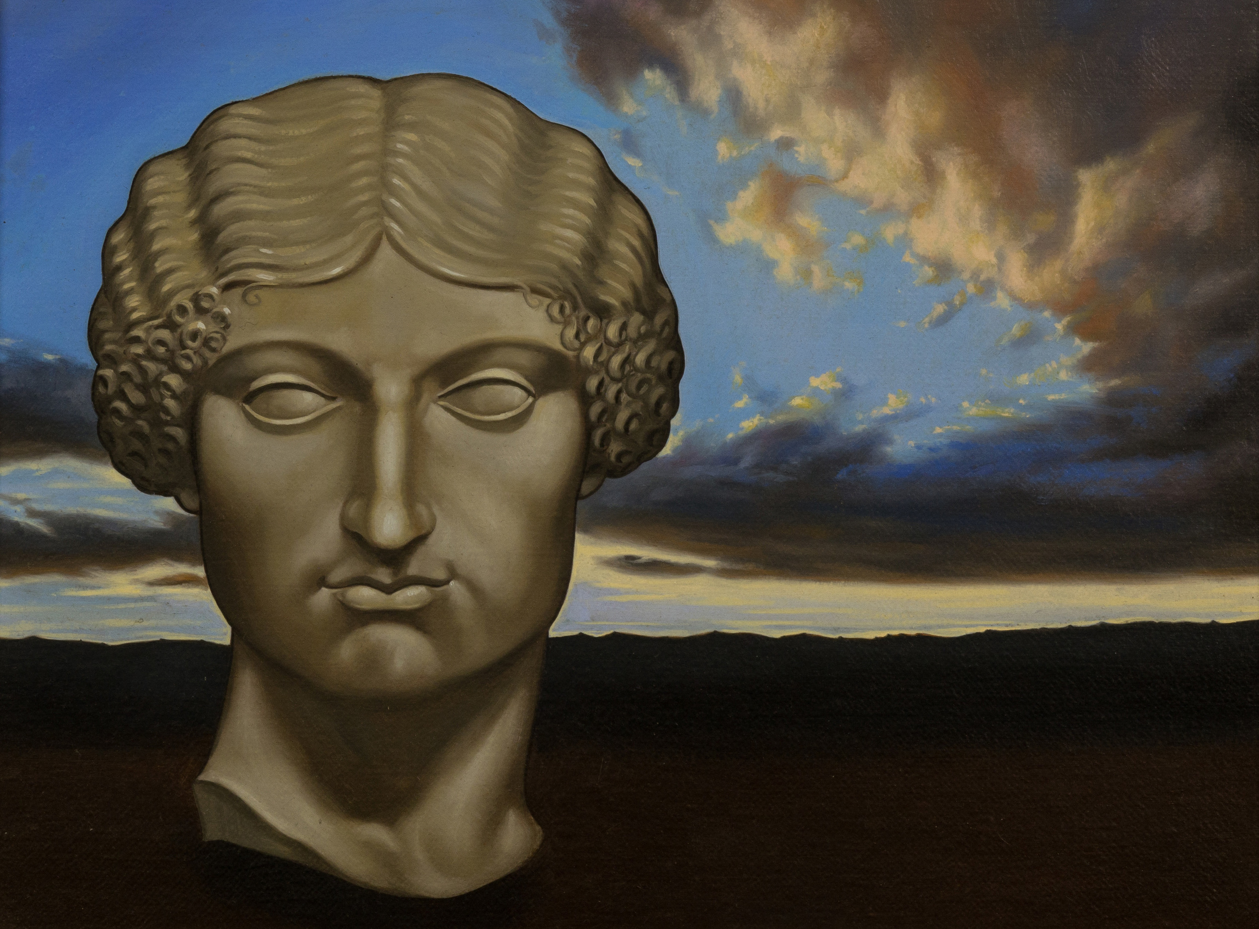 Livia ovvero la bellezza naturale ,  olio su tela, cm 30x40, 2005