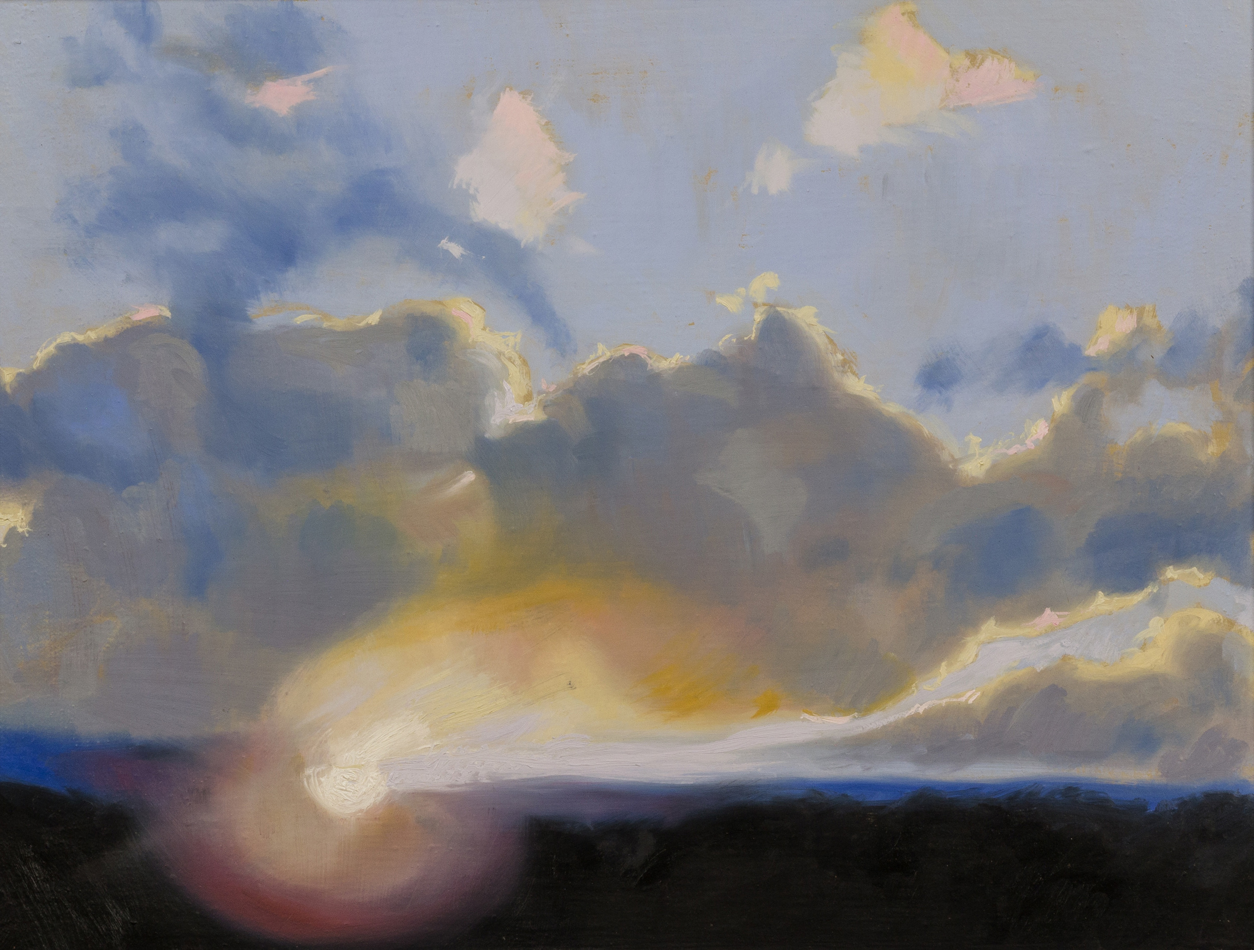 Theophania , olio su tela, cm 30x40, 2013