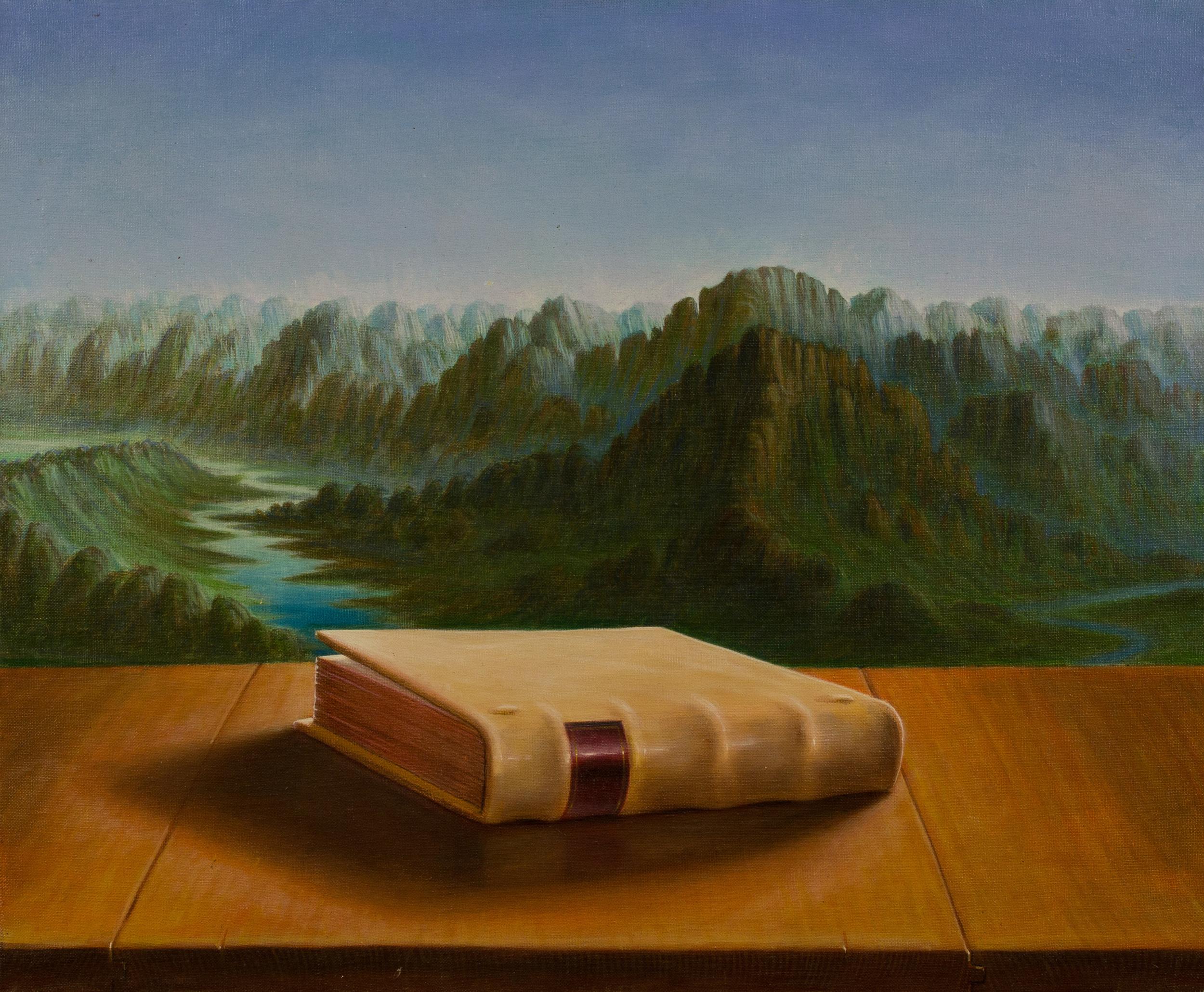 Terra (Ciclo di quattro elementi) , olio su tela, cm 50x60, 1992