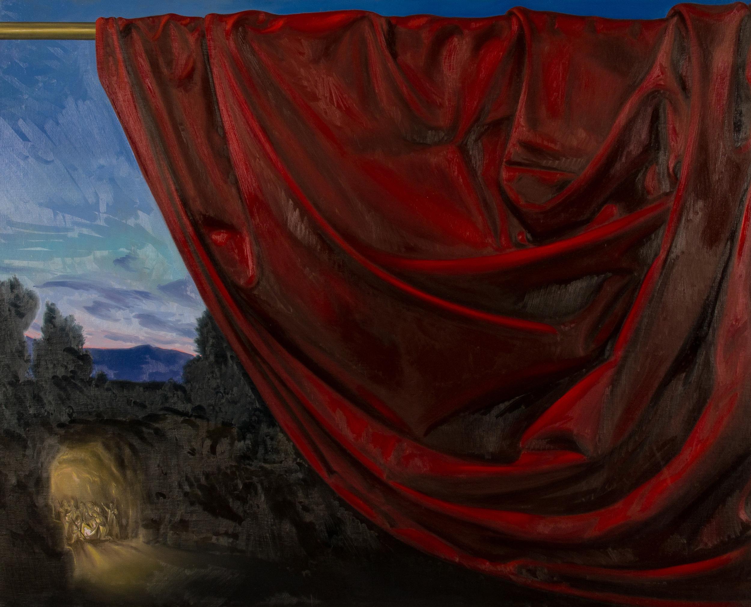 Theophania. Natività , olio su tela, cm 80x100, 2014