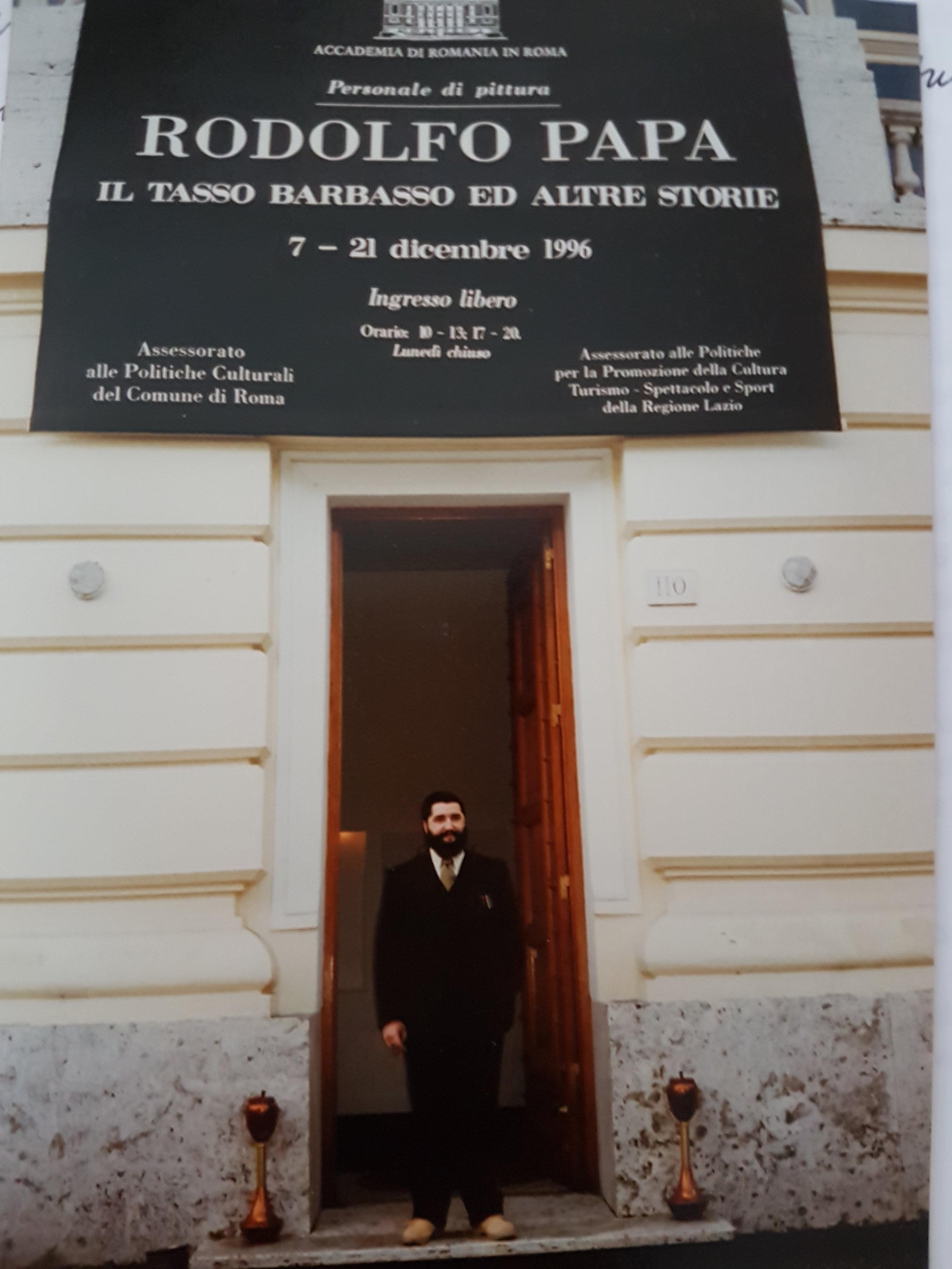 Accademia di Romania 1996 -Personale