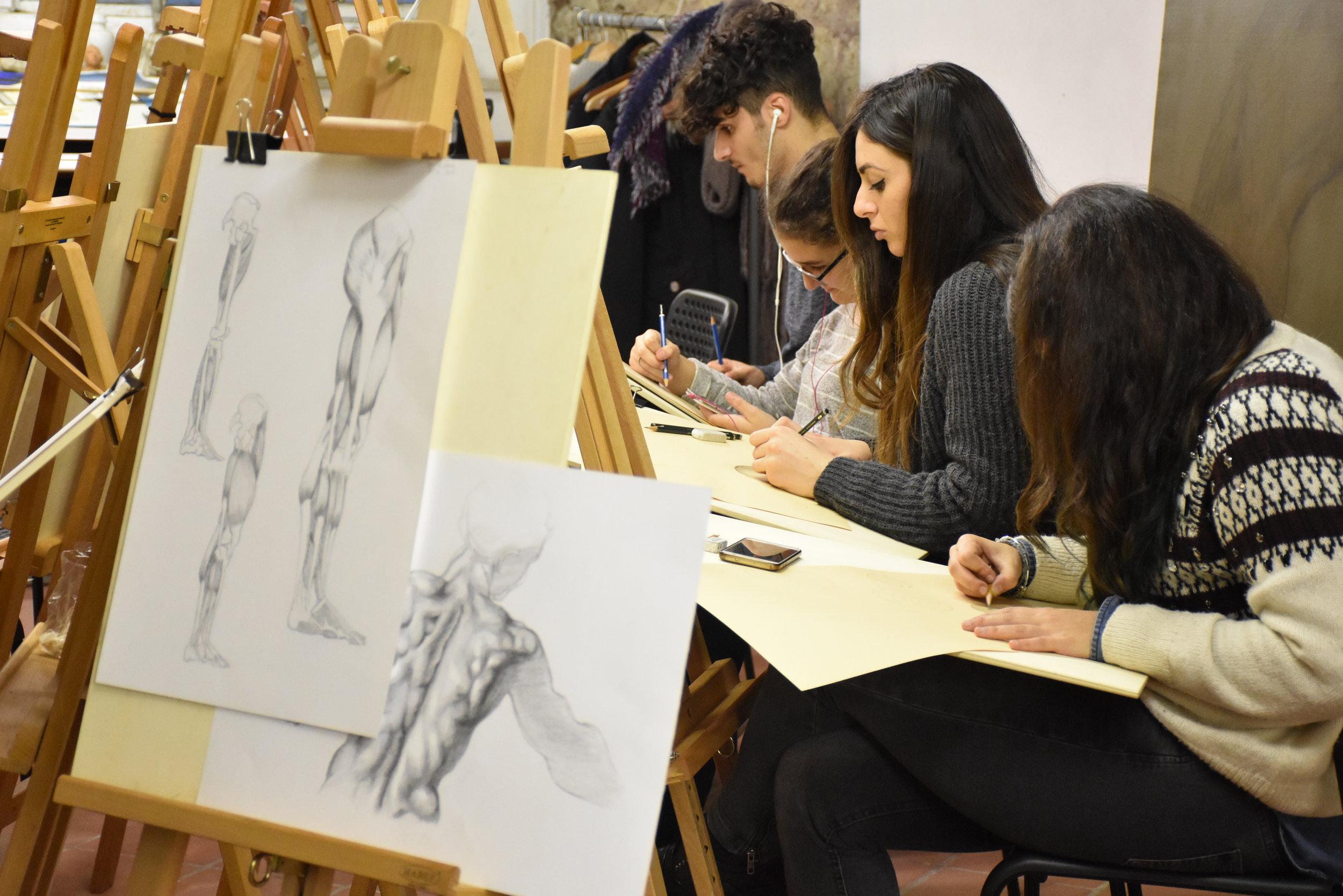 Corso di Disegno, Accademia Urbana delle Arti