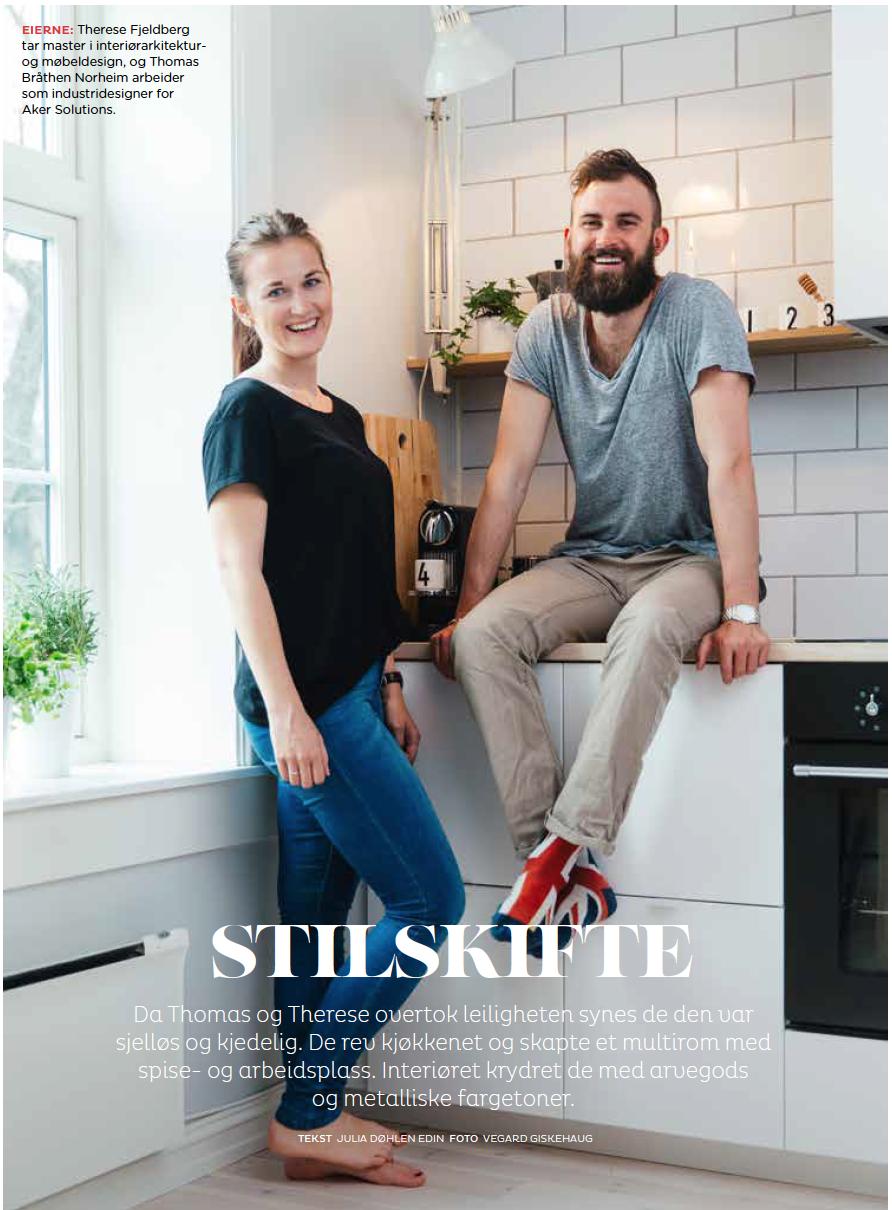 Stilskifte - Reportasje for OBOS nr.6 - 2015