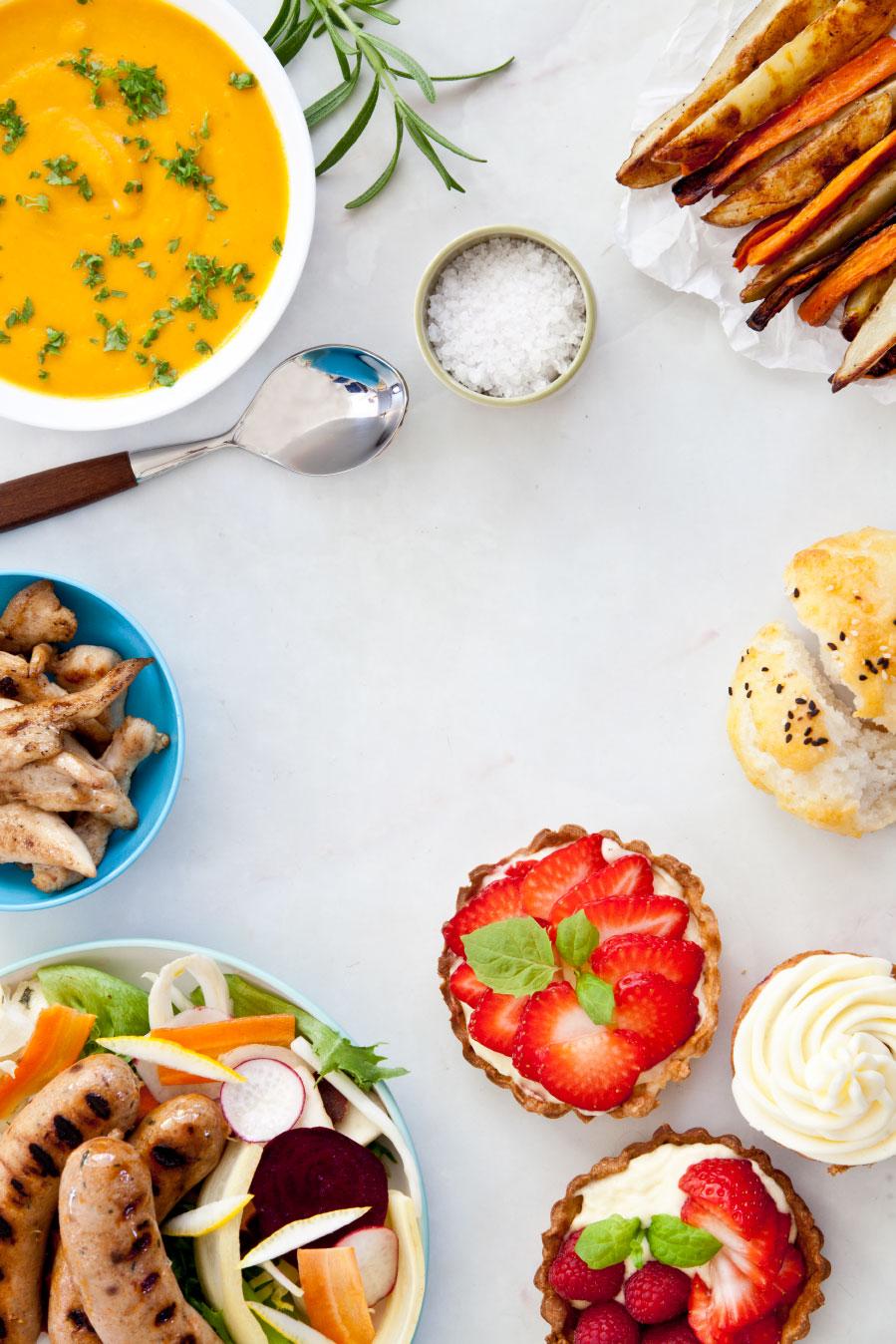 LavFODMAP - Magevennlig mat - Utvikling av kokebok fra idé, tekst og oppskrifter, til styling, foto og design