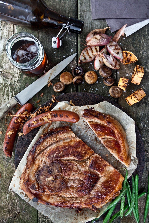 Den brune maten.  - Foto tatt for Dagny Fargestudio sitt nyhetsbrev i forbindelse med årets farge 201