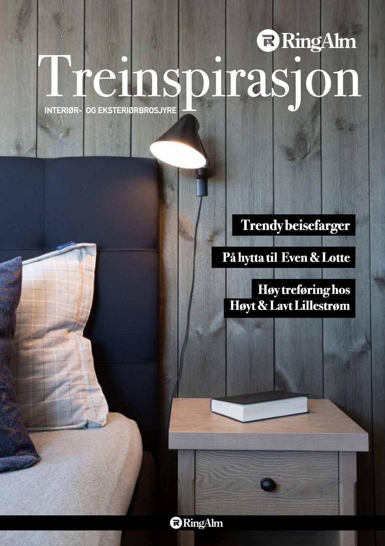 Magasindesign - April 2019Design, idé, konsept og redaksjonelle tjenester av magasinet Treinspirasjon for RingAlm.