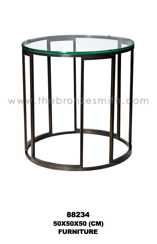 Bronze modern/ contemporary side table