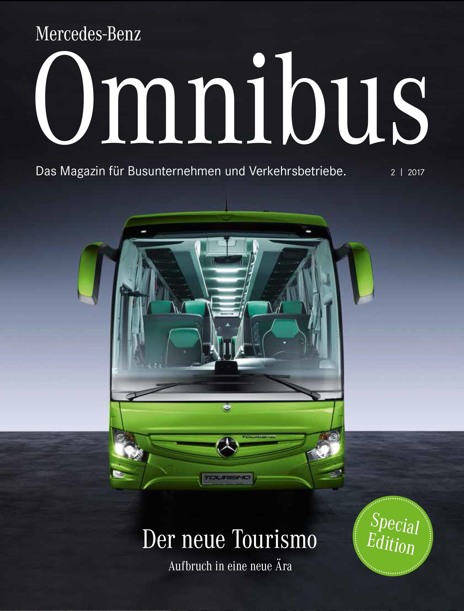 Mercedes Benz Omnibus Markenmagazin