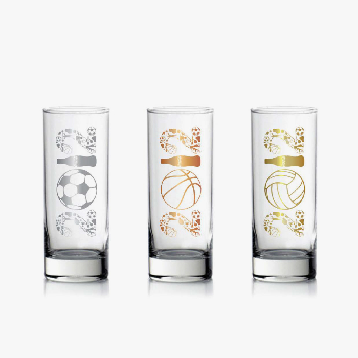 Ocean Glass : Gift for Euro Games 2012. The concept design is the Euro Games to souvenir design for Ocean Glass